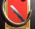 哈努曼转世宝牙奇僧 龙婆卡隆 佛历2551年 纯银法镯
