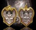 龙婆瓦拉佛历2540年纯银鹰神
